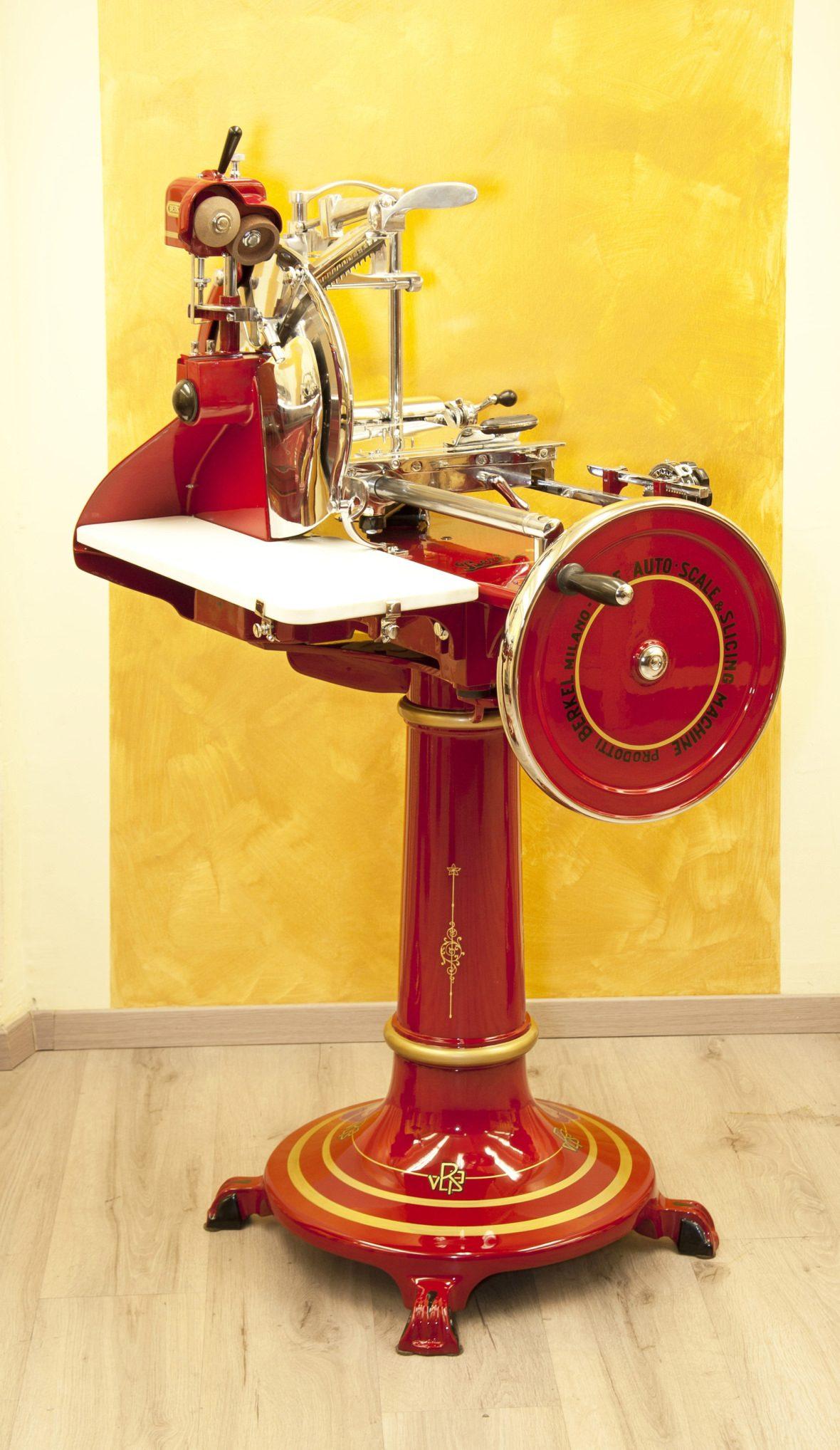 Berkel slicer model 12 red